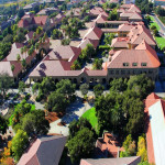 MOOC Summaries - International Business I - Managed Trades - Clusters of Competition - Stanford, CA, USA - October 16, 2012: The famous Stanford University campus located near Palo Alto, California.
